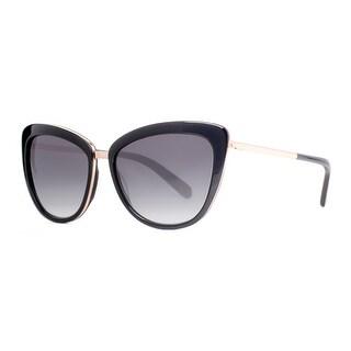 KATE SPADE Cat eye KANDI/S Women's 0W63 Y7 Black/Gold Gray Gradient Sunglasses - 56mm-16mm-135mm
