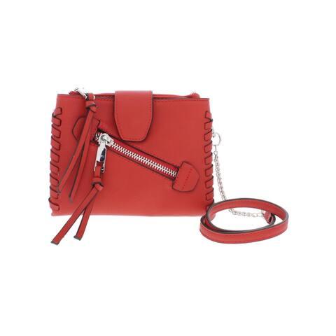 BCBGeneration Womens Aubry Crossbody Handbag Faux Leather Organizational - Small