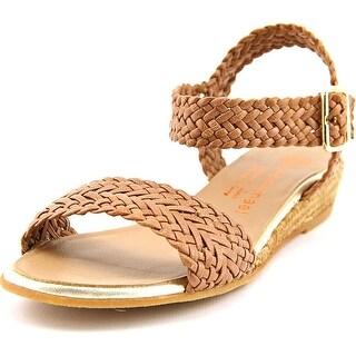 Eric Michael Tally Lexi Women Open Toe Leather Wedge Sandal