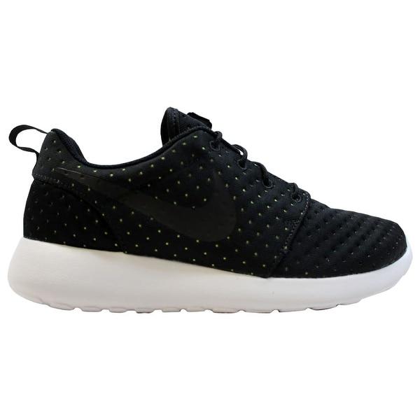b788a3d7cfd22 Shop Nike Roshe One 1 SE Black Black-Volt 844687-001 Men s - On Sale ...