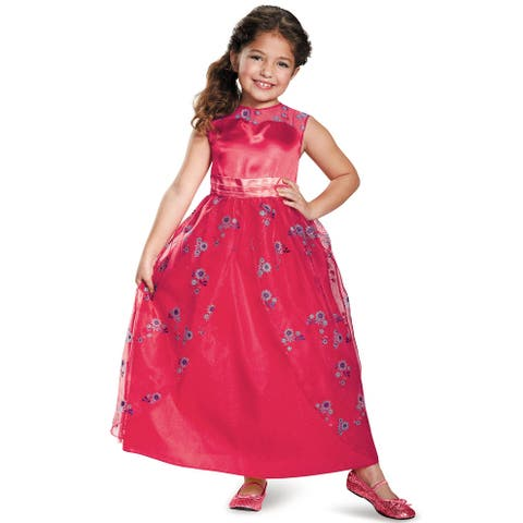 Disguise Elena Ball Gown Classic Child Costume - Red