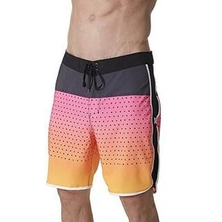 Hurley Mens M Phantom Motion Trd Reef Boardshort, Hyper Pink/Black/White, 32