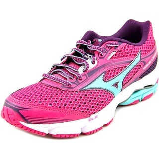 Mizuno Wave Legend 3 Women Round Toe Synthetic Pink Running Shoe