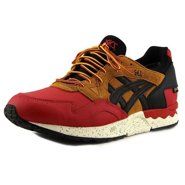 Asics Gel-Lyte V G-TX Men Round Toe Leather Red Running Shoe