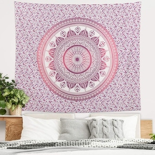 Link to Americanflat Mandala Tapestry Wall Hanging Bedroom Dorm Decor Beach Towel Yoga Mat Similar Items in Blankets & Throws