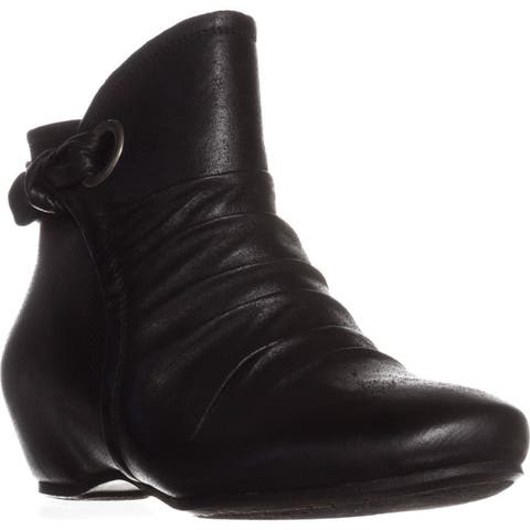 BareTraps Salie Hidden Wedge Ankle Boots, Black