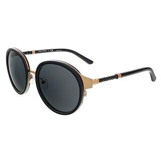 Tory Burch TY6042Q 310687 Rose Gold/Black Round Sunglasses - 52-19-135