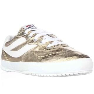 Superga 2832 Cotmetw Fashion Sneakers - Gold