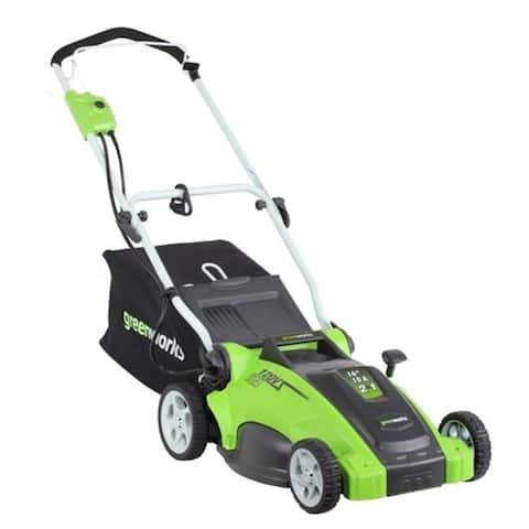 Greenworks 25142 16 in. 2-in-1 Electric Mower