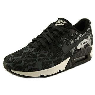 Nike Air Max 90 Jcrd Women Round Toe Synthetic Black Sneakers