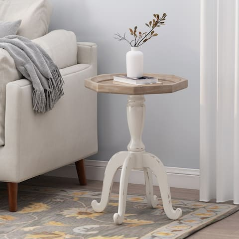 Catawissa French Country Accent Table with Octagonal Top by Christopher Knight Home