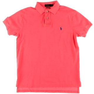 Polo Ralph Lauren Mens Custom Fit Embroidered Polo Shirt