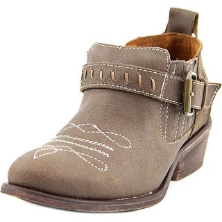 Charles By Charles David Diamante Women Round Toe Leather Brown Bootie