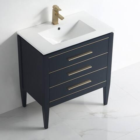 "Ayer 30"" Single Bathroom Vanity Set"