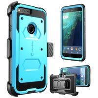 Google Pixel XL Case, i-Blason, Armorbox Full Body Protective Case-Blue