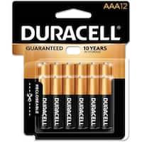 Duracell Coppertop Alkaline Batteries Aaa 12/Pkg-Aaa