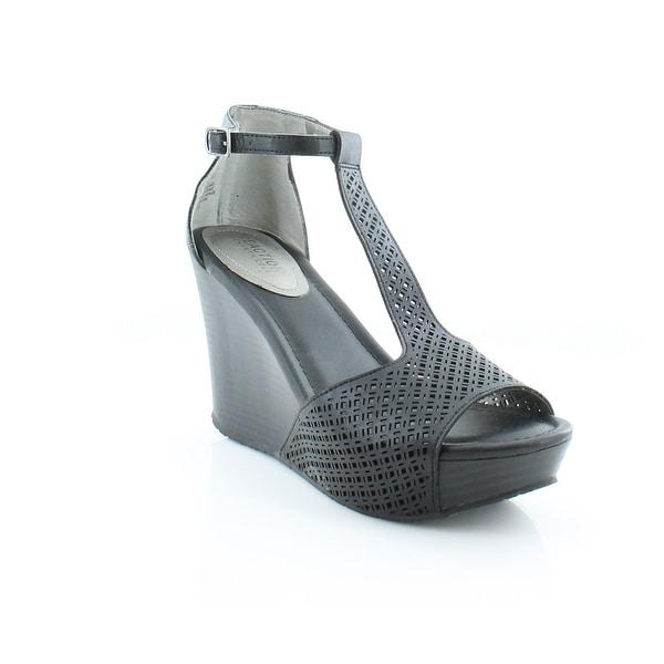 Kenneth Cole Reaction Sole Tan Women's Sandals & Flip Flops Black