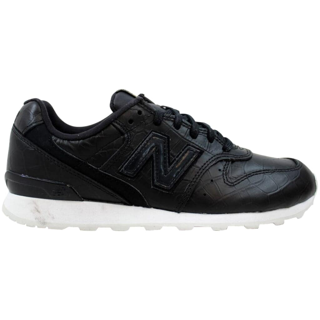 New Balance Women's Leather 696 Black