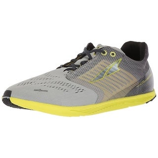Altra Mens Vanish Fabric Low Top Lace Up Running Sneaker, Gray/Lime, Size 5.0 - 5