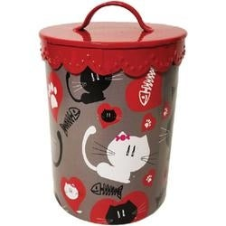 Grey - Kitty Amore' Treat Canister