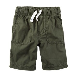 Carter's Little Boys' Pull-On Poplin Shorts, 2-Toddler