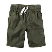 Carter's Little Boys' Pull-On Poplin Shorts, 4-Kids