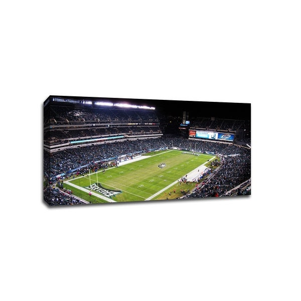 Philadelphia - NFL - 40x22 Gallery Wrapped Canvas Wall Art