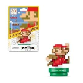 Nintendo Wii/ Wii U Software Amiibo Mario 30th Anniversary 8bit Classic Color Mario Action Figure