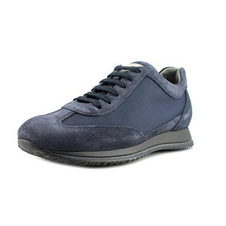 Hogan City Tech Mod Coda Rondine EW Round Toe Suede Sneakers