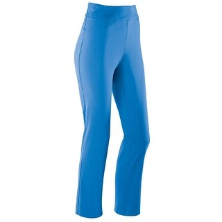 Women's Stretch Pants - Luna Bengaline Weave High Waist Trousers
