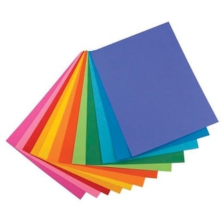 "Hygloss - Bright Color Paper - 8.5"" x 11"" 25 Shts./Pk."