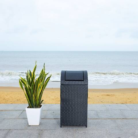 Safavieh Outdoor Living Serapis Trash Bin