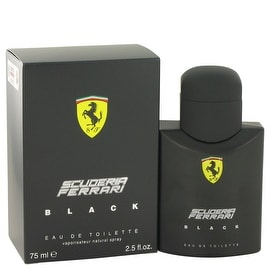 Ferrari Scuderia Black by Ferrari Eau De Toilette Spray 2.5 oz - Men