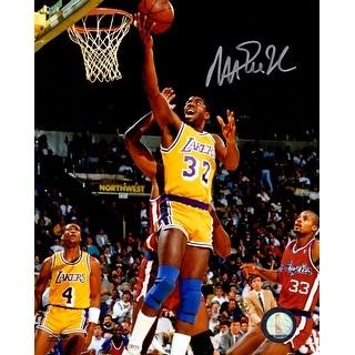 Magic Johnson Los Angeles Lakers Lay Up 8x10 Photo