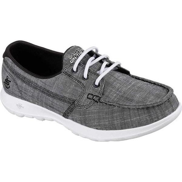 GOwalk Lite Isla Boat Shoe Black