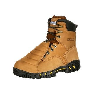 Michelin Work Boots Mens Sledge Steel Toe Metatarsal Brown XPX781|https://ak1.ostkcdn.com/images/products/is/images/direct/36d205912fe4b84edd2dc6f02fbebeba46ef3d70/Michelin-Work-Boots-Mens-Sledge-Steel-Toe-Metatarsal-Brown-XPX781.jpg?impolicy=medium