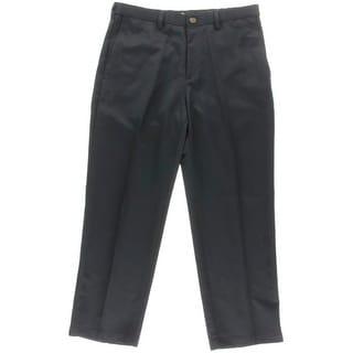 Haggar Mens Classic Fit Comfort Waist Dress Pants - 30/30