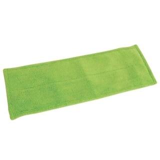 """Quickie 0764M Microfiber Hard Floor Mop Refills, Green, 15""""X5"""""""