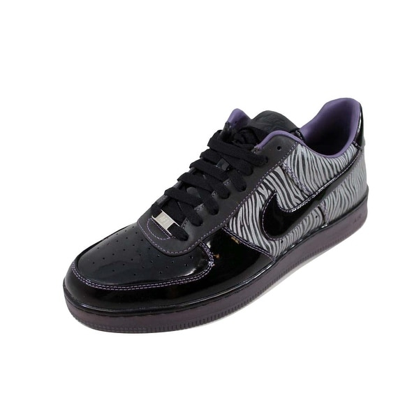 best website 4db74 7d91d Shop Nike Men's Air Force 1 Downtown NRG Black/Black-Metallic Silver ...