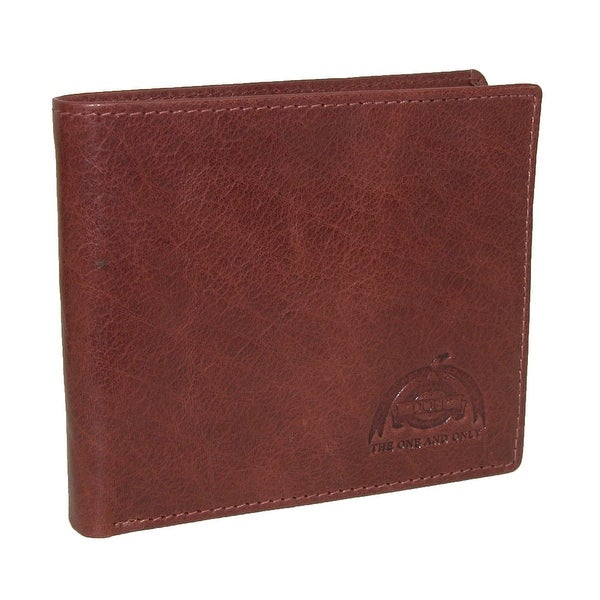 Buxton Men's DOPP Carson Leather RFID Slimfold Wallet