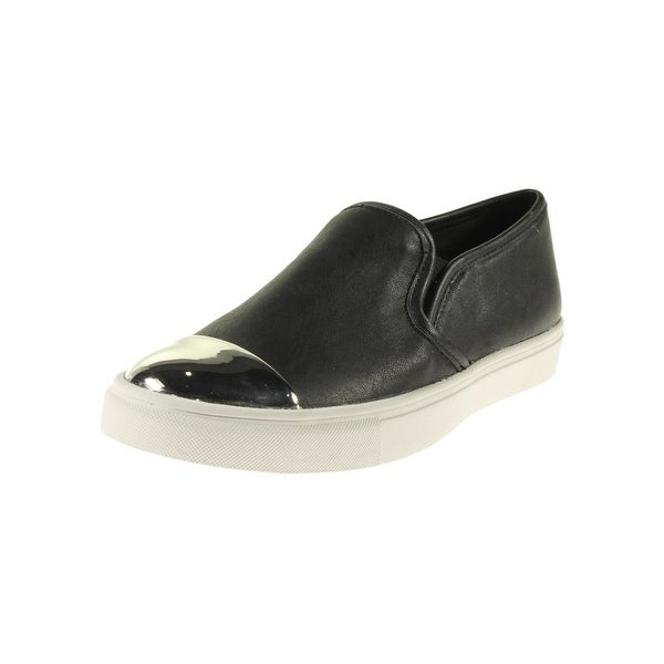 Steve Madden Womens Eleete Loafers Toe Cap Casual
