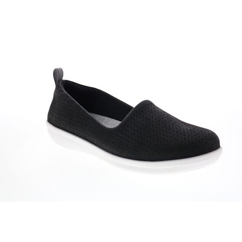 Clarks Ayla Blair Black Womens Lifestyle Sneakers