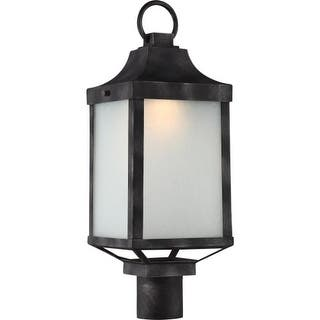 Nuvo lighting outdoor lighting for less overstock nuvo lighting 62835 winthrop single light 7 12 wide integrated aloadofball Image collections