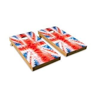 Union Jack-ed Up Cornhole Board Set