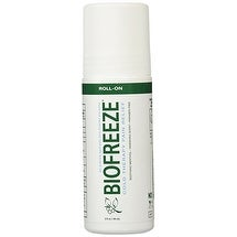 Biofreeze Pain Relieving Roll On, 3-Ounce Bottle