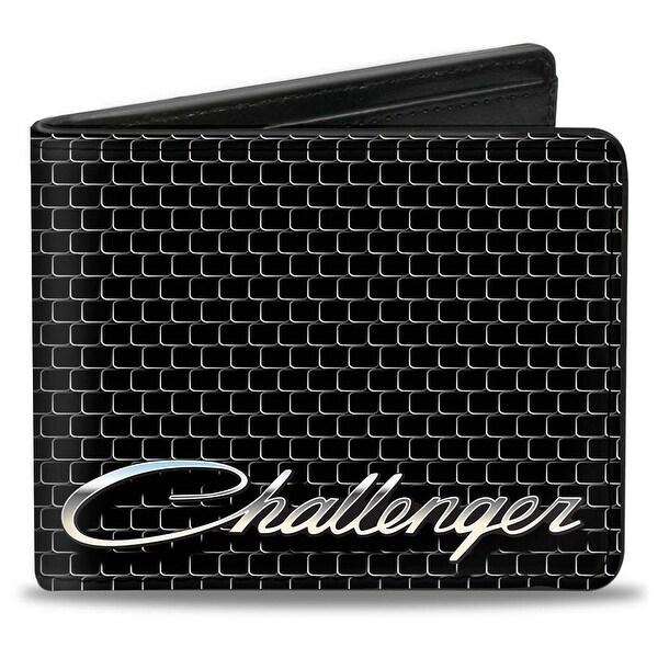 Challenger Script Grille Bi Fold Wallet - One Size Fits most