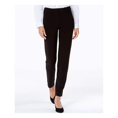 XOXO Womens Black Straight leg Pants Juniors Size: 11