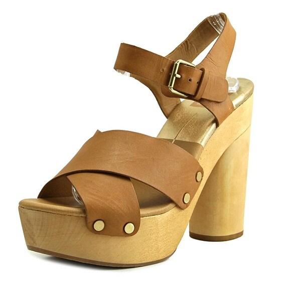 Dolce Vita Tildah Women Open Toe Leather Platform Heel