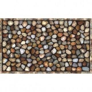 Apache Mills 60-759-5000-01800030 Buymats River Rocks Tiretuff Masterpiece - 18 x 30 Mats