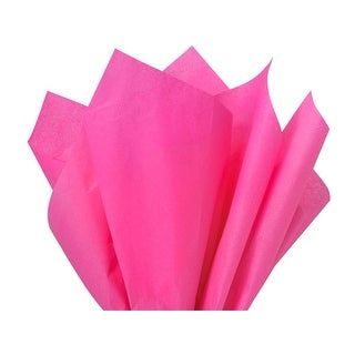 "(480 pack) Solid Hot Pink Tissue Paper 20 x 30"" Sheet Half Ream Made from Post Industrial Recycled Fibers"